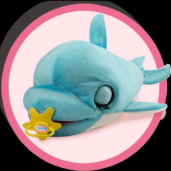Blu Blu The Baby Dolphin Club Petz